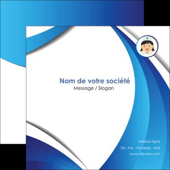 modele flyers infirmier infirmiere medecin medecine docteur MIF30032
