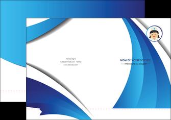 creer modele en ligne pochette a rabat infirmier infirmiere medecin medecine docteur MIF30038