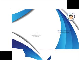 creation graphique en ligne pochette a rabat infirmier infirmiere medecin medecine docteur MIF30040