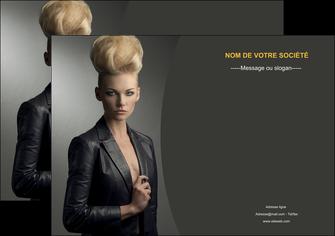 imprimerie affiche centre esthetique  coiffure beaute salon MLGI30216