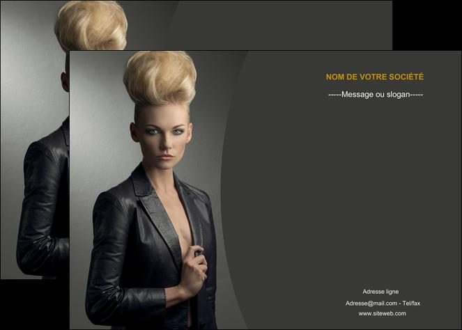 personnaliser modele de affiche centre esthetique  coiffure beaute salon MLGI30222