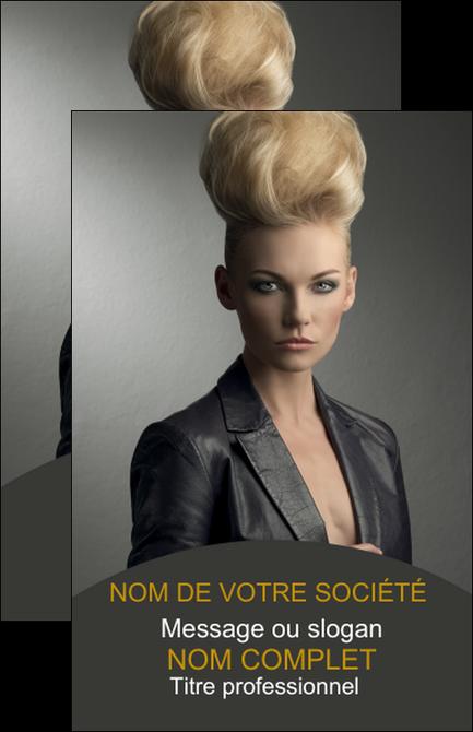 imprimerie carte de visite centre esthetique  coiffure beaute salon MLGI30236