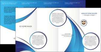 realiser depliant 4 volets  8 pages  materiel de sante medecin medecine docteur MLGI30252