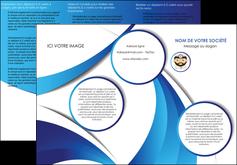 personnaliser maquette depliant 3 volets  6 pages  materiel de sante medecin medecine docteur MLGI30266