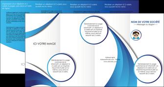 faire modele a imprimer depliant 4 volets  8 pages  materiel de sante medecin medecine docteur MLGI30330