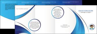 modele depliant 4 volets  8 pages  materiel de sante medecin medecine docteur MLGI30332