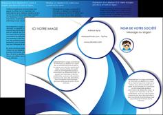 personnaliser maquette depliant 3 volets  6 pages  materiel de sante medecin medecine docteur MLGI30344
