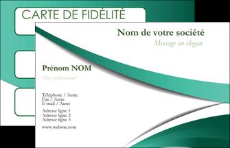 Commander tarif impression cartes postales Infirmier / Infirmière Carte commerciale de fidélité modèle graphique pour devis d'imprimeur Carte de Visite - Paysage