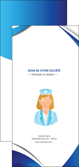 personnaliser modele de flyers infirmier infirmiere infirmiere infirmerie blouse MLGI30446