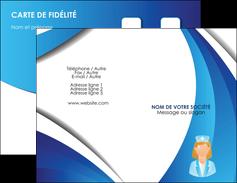 imprimerie carte de visite infirmier infirmiere infirmiere infirmerie blouse MLGI30474