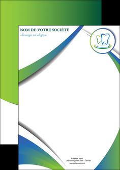 modele flyers dentiste dents dentiste dentier MLGI30500