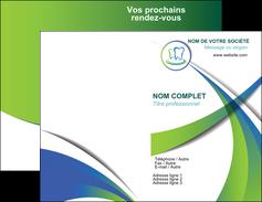 modele carte de visite dentiste dents dentiste dentier MLGI30510