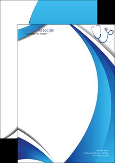 maquette en ligne a personnaliser flyers materiel de sante medecin medecine docteur MLIG30570