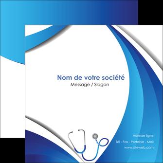 creer modele en ligne flyers materiel de sante medecin medecine docteur MLIG30588