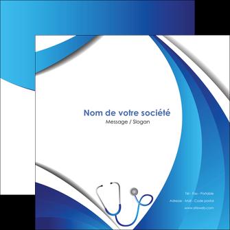 faire modele a imprimer flyers materiel de sante medecin medecine docteur MLGI30590