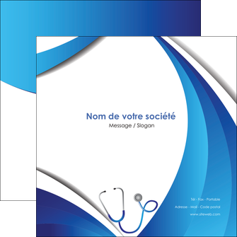 faire modele a imprimer flyers materiel de sante medecin medecine docteur MLIG30590