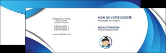 faire modele a imprimer carte de visite chirurgien medecin medecine sante MIF30600