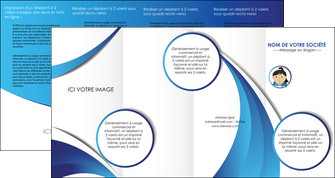personnaliser maquette depliant 4 volets  8 pages  chirurgien medecin medecine sante MIF30608