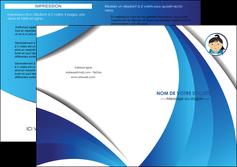 imprimer depliant 2 volets  4 pages  chirurgien medecin medecine sante MIF30614