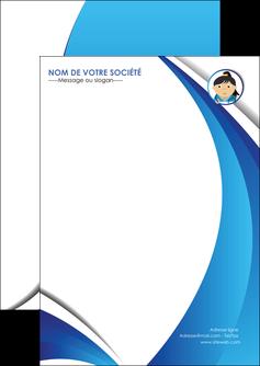 maquette en ligne a personnaliser flyers chirurgien medecin medecine sante MIF30624
