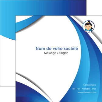 creer modele en ligne flyers chirurgien medecin medecine sante MIF30628