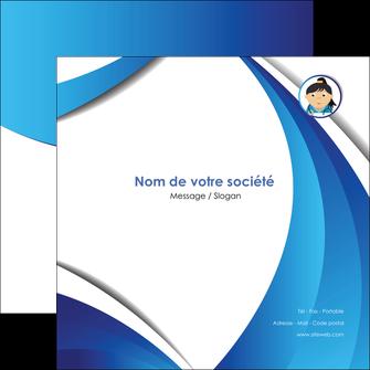 creation graphique en ligne flyers chirurgien medecin medecine sante MIF30630