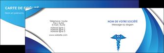 realiser carte de visite chirurgien medecin medecine sante MIS30718