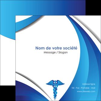 maquette en ligne a personnaliser flyers chirurgien medecin medecine sante MIS30726