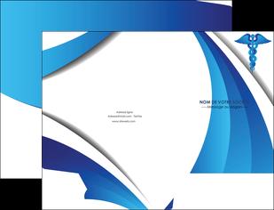 creer modele en ligne pochette a rabat chirurgien medecin medecine sante MIS30732