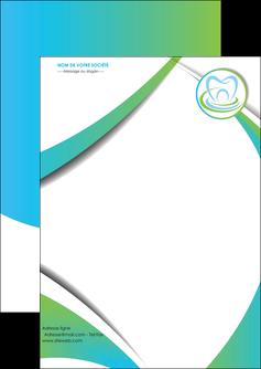 creer modele en ligne flyers dentiste dents dentiste dentier MLGI30804