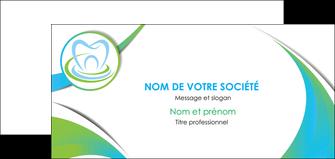 imprimerie carte de correspondance dentiste dents dentiste dentier MLGI30806