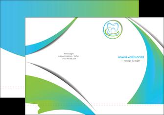 maquette en ligne a personnaliser pochette a rabat dentiste dents dentiste dentier MLGI30814