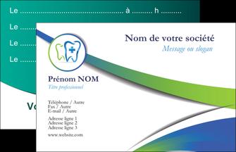 maquette en ligne a personnaliser carte de visite dentiste dents dentiste dentier MLGI30824