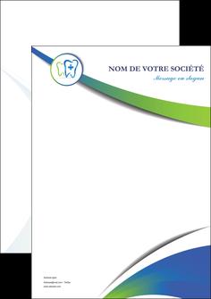 personnaliser modele de affiche dentiste dents dentiste dentier MLGI30828