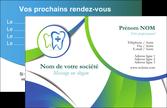 faire modele a imprimer carte de visite dentiste dents dentiste dentier MLGI30854