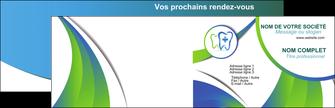 personnaliser maquette carte de visite dentiste dents dentiste dentier MLGI30862