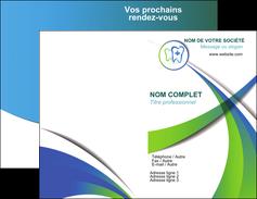 maquette en ligne a personnaliser carte de visite dentiste dents dentiste dentier MLGI30864