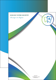 maquette en ligne a personnaliser affiche dentiste dents dentiste dentier MLGI30866