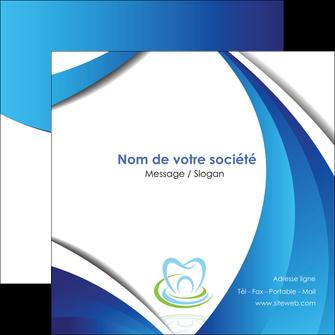 imprimerie flyers dentiste dents dentiste dentier MLIG30964