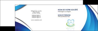 maquette en ligne a personnaliser carte de visite dentiste dents dentiste dentier MLGI30970