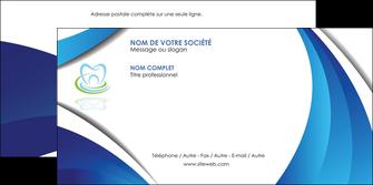 personnaliser modele de enveloppe dentiste dents dentiste dentier MLGI30976