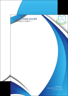 personnaliser modele de flyers dentiste dents dentiste dentier MLGI30992