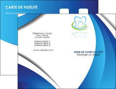 personnaliser maquette carte de visite dentiste dents dentiste dentier MLGI30996
