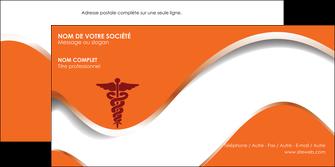 personnaliser modele de enveloppe chirurgien pharmacie hopital medecin MIF31060