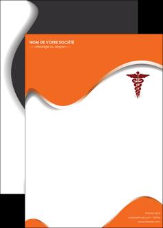maquette en ligne a personnaliser affiche chirurgien pharmacie hopital medecin MIF31076