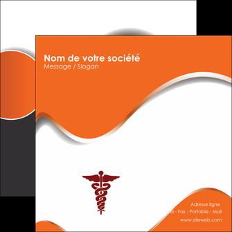 personnaliser modele de flyers chirurgien pharmacie hopital medecin MIF31086