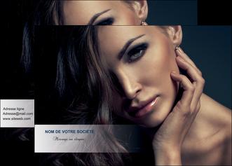 realiser affiche cosmetique coiffeur a domicile salon de coiffure salon de beaute MLGI31278