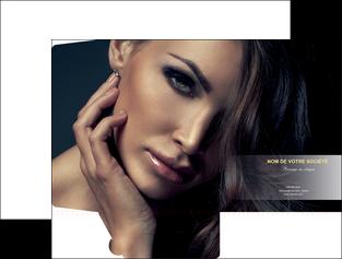 personnaliser modele de pochette a rabat cosmetique coiffeur a domicile salon de coiffure salon de beaute MLGI31288