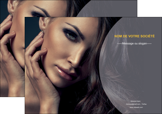 personnaliser maquette affiche cosmetique beaute bien etre coiffure MLGI31376