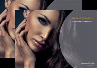 creation graphique en ligne affiche cosmetique beaute bien etre coiffure MLIP31380